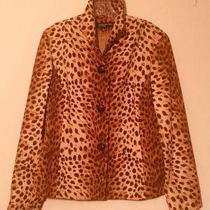 Jones New York Leopard Jacket.